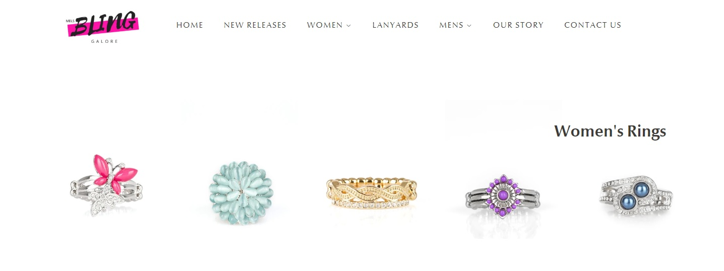 Bling Galore Womens Rings