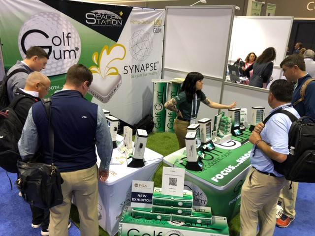 Golf Gum® Booth 2805 with SPACE STATIONS®