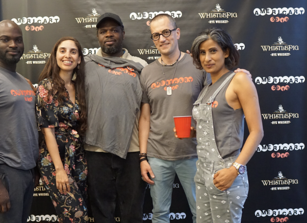 The Americart 2019 Team at the launch event